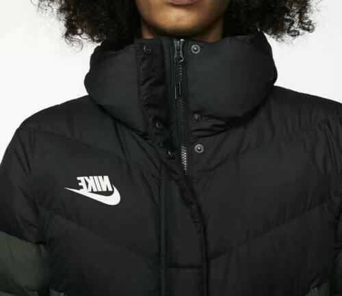 Nike Windrunner Down Hooded Puffer Aa8853-045 Size