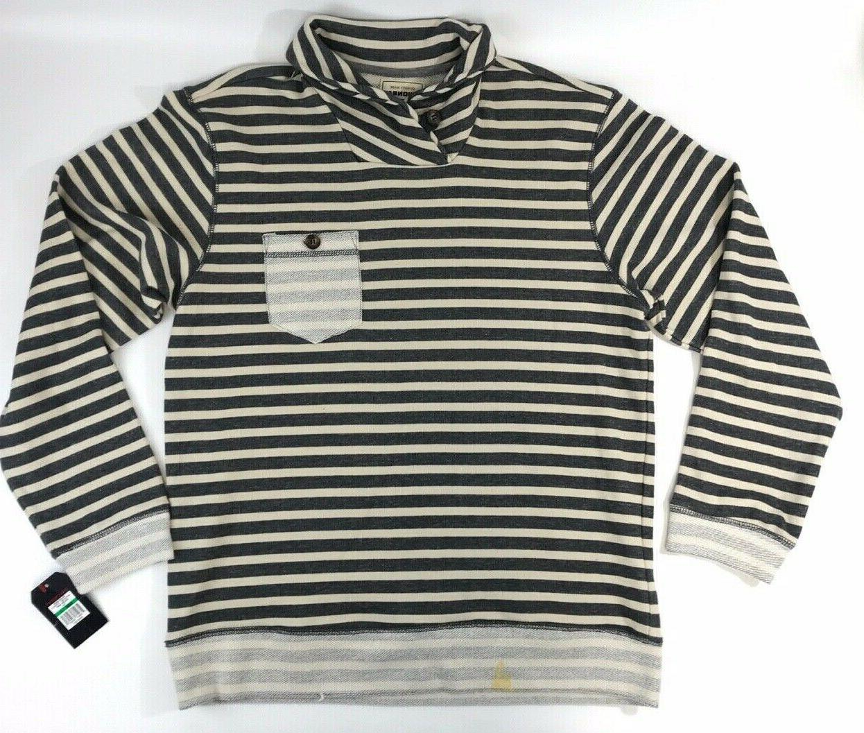 young mens long sleeve pull over cotton