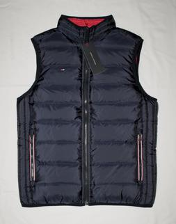 Tommy Hilfiger Men Puffer Reversible outerwear vest all size