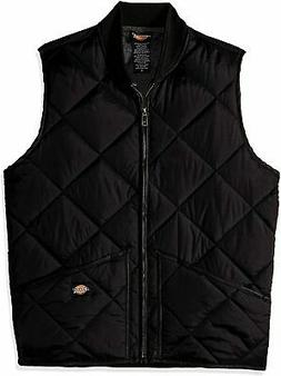 Dickies Men's Diamond Quilted Nylon Vest - Choose SZ+Color