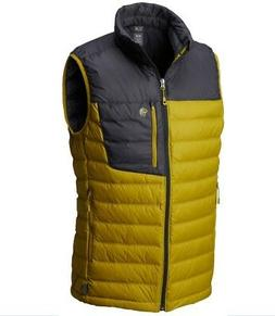 Mountain Hardwear Men's Dynotherm¿ Down Vest Dark Citron La