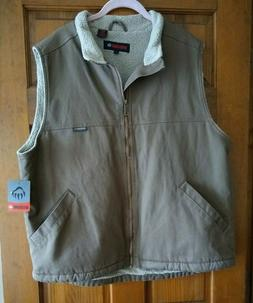 Wolverine Men's Finley Cotton Duck Insulated Vest - Men's si