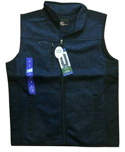 Orvis Men's Fleece Vest Sweater Blue Outdoor Fishing Hunting