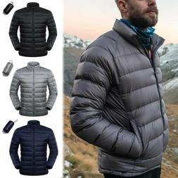 Men's Goose Duck Down Jacket Packable Lightweight Puffer Coa