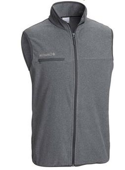 Men's Columbia Mountain Crest Vest Graphite Heather/Medium