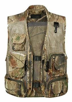 Gihuo Men's Outdoors Utility Hunting Travels Tactical Mesh R