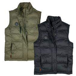 Timberland Men's Puffer Polyester Fill Vest A1Y2W