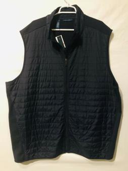 Perry Ellis Men's Quilted Lined Full Zip Vest 3X NWT
