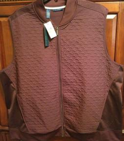 Perry Ellis Men's Quilted Vest NWT 3X