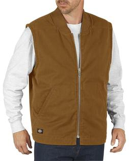 men s sanded duck insulated vest te240
