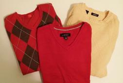 Men's Size S Sweaters Value Pack of 2 with BONUS Sweater Ves