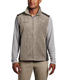 Columbia Men's Steens Mountain Full Zip Soft Fleece Vest, Tu