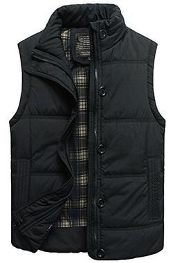 Men's Stylish Padded Body Warmer Puffer Vest Active Bodywarm