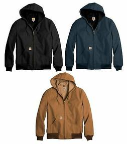 Carhartt Men's Thermal Lined Canvas Hooded Jacket