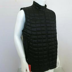 THE NORTH FACE THERMOBALL INSULATED PUFFER VEST Black/Black