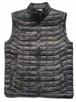 THE NORTH FACE Men's ThermoBall Insulated Vest Green Glamo P