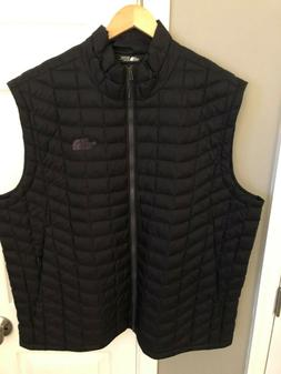 The North Face Men's Thermoball Vest XXL TNF BLACK NEW NWT $