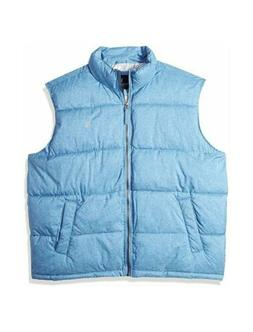 Men's U.S. POLO ASSN. Heather Basic Puffer Vest Sleeveless 1