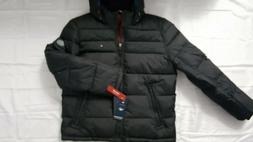 TOMMY HILFIGER MEN'S WIND RESISTANT QUILTED PUFFER JACKET SI