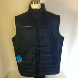 Columbia Men's XXL Navy Blue Omni Heat Puffer Go To Vest