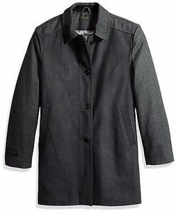 Ike Behar Mens Big and Tall Seville, charcoal, 3/4 length wo