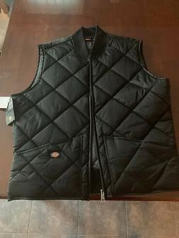 Brand New Men's Dickies Black Vest Brand New With Tags Siz