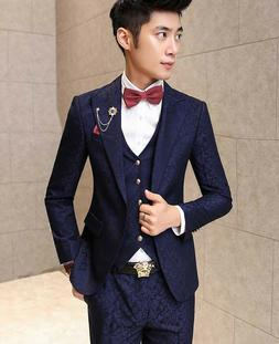Men's Fashion Wedding Blazer Tuxedo Suits