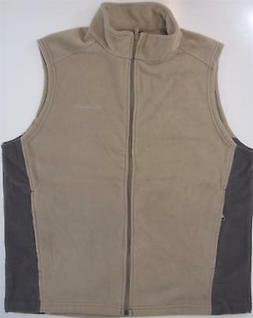 Columbia Mens Granite Mountain Fleece Vest Jacket Big 1X 3X