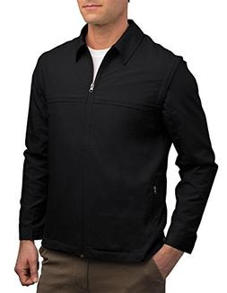 Men's SCOTTeVEST Jacket - 25 Pockets - Travel Clothing BLK