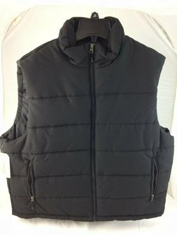 MENS LARGE SIZE L PUFFER VEST WATER RESISTANT OUTDOOR LIFE N