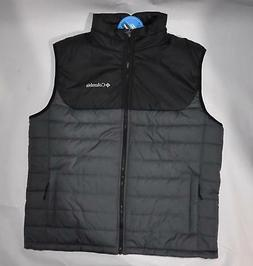 Columbia Mens M-L-XL Horstman Glacier II Vest Jacket Gray/Bl