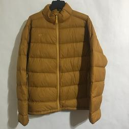 Mountain Hardwear Mens M XL Ratio Down Jacket Gold Underbrus