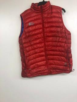 The North Face Mens Summit Series Puffer Vest, Red, XL