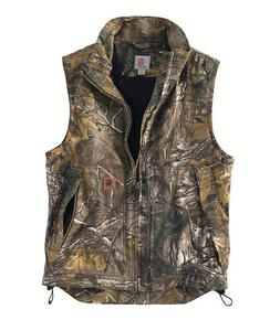 Carhartt Mens Vest Quick Duck Insulated Hunting XL CAMO Thin