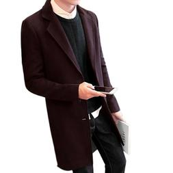 Mens Winter Coats Jackets Outerwear Clearance Slim Fit Big a