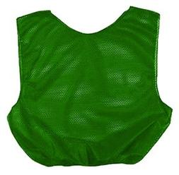 Martin Kelly Green Adult Mesh Poly Scrimmage Vests