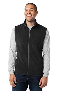 Port Authority Men's Microfleece Vest S Black