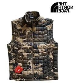 NEW $149 The North Face Men's ThermoBall Vest camo waterproo