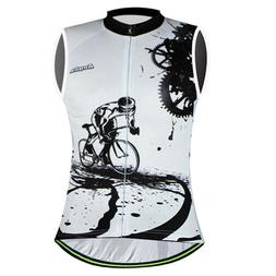Cycling Shirt Sleeveless Breathable Sweat-proof <font><b>Ves