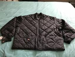NEW DICKIES DIAMOND QUILTED INSULATED FULL ZIP JACKET MEN-3X