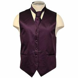 New Brand Q formal Men's wedding tuxedo vest waistcoat & Nec