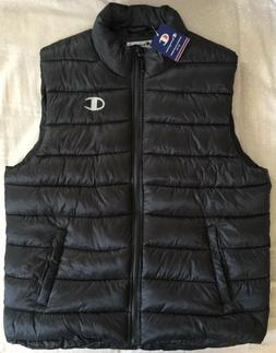 *NEW* Champion Full-Zip Lightweight Puffer Vest  - Men's Siz