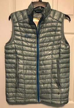 NEW Columbia Ghost Whisperer Grey Vest Men's Retail $240 Med