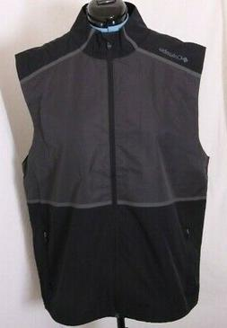 Columbia NEW Golf Pick and Play Full Zip Net Back Windbreake