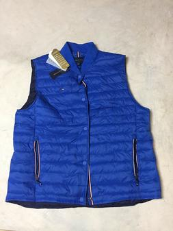 New Tommy Hilfiger Jeremiah Insulator Puffer Quilted Vest ja
