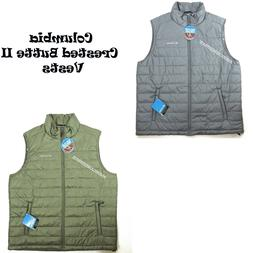 COLUMBIA NEW MEN'S CRESTED BUTTE II VEST OMNI HEAT THERMAL L