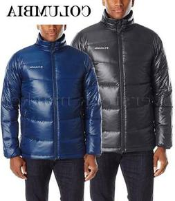 NEW MENS COLUMBIA GOLD 650 TURBODOWN JACKET! DOWN JACKET WIT