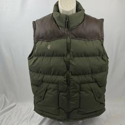 NEW U.S. Polo Assn. Men's Standard Puffer Vest Forest Night