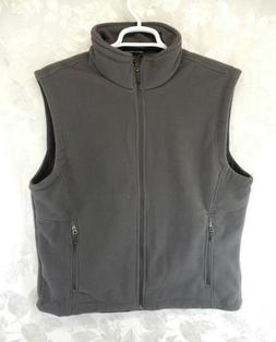 NWOT Port Authority Men's Microfleece Vest Size XL Full Zip