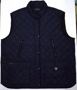 NWT Men's 4XLT Polo Ralph Lauren Outerwear Diamond Quilted V